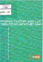 Phòng chống bạo lực trên cơ sở giới ở Việt Nam