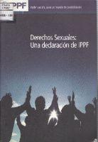 Derechos Sexuales: Una declaracion de IPPF