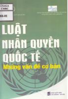 Luật nhân quyền quốc tế những vấn đề cơ bản (Sách tham khảo)